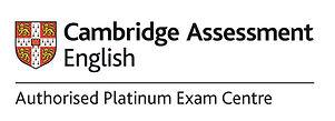 Authorised Platinum Exam centre logo_CMY