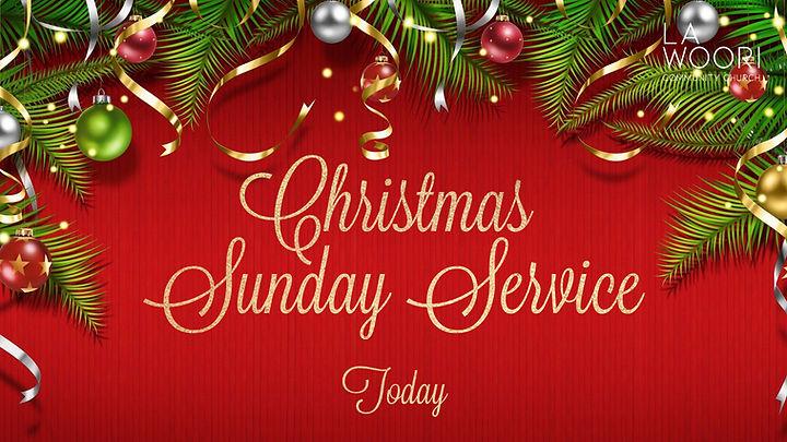 Christmas Sunday Service 12.20.2020 logo