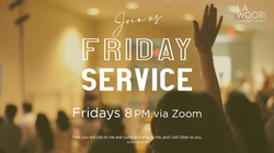Friday Service_no info