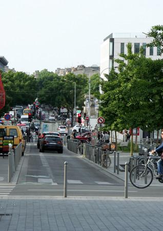 En vélo à Bordeaux