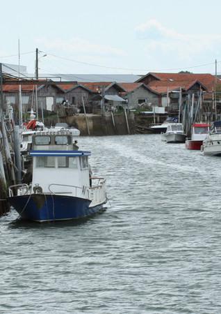 Le port ostréïcole de La Teste, bassin d'Arcachon