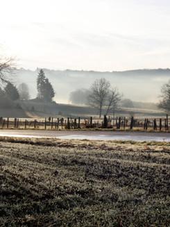 Petit matin d'hiver, Limousin