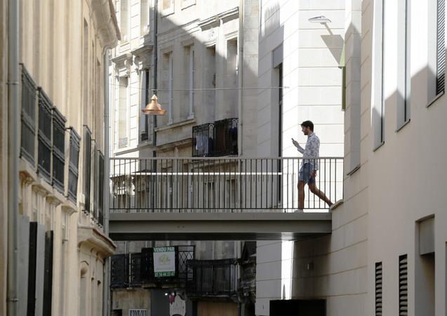 Passage sur rue, Bordeaux centre