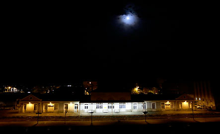 Une gare annexe à Limoges, de nuit