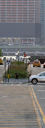vue sur Manhattan depuis le Queens, NYC