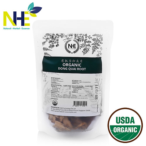 Organic Dong Quai Root 有机当归头片
