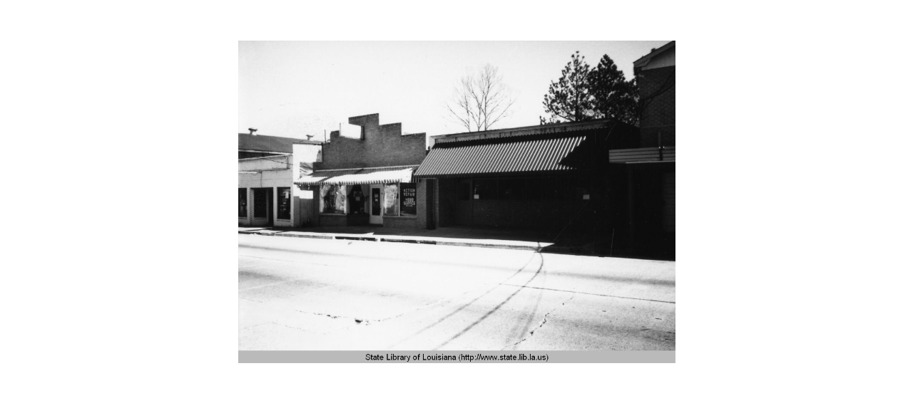 Storefronts in 1960