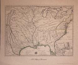 1718 Map of Louisiana-1