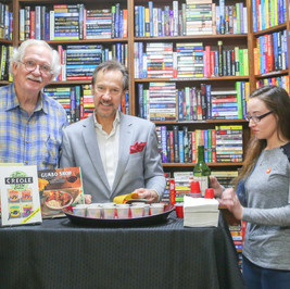 "Richard Stewart ""Gumbo Shop Cookbook"" at Cavelier House Books"