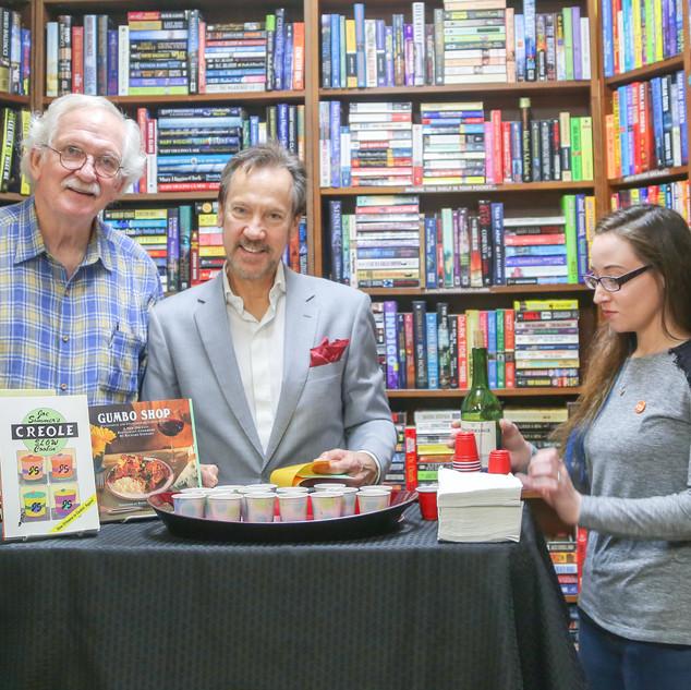 "Richard Stewart ""Gumbo Shop Cookbook"" at Cavelier House Books"