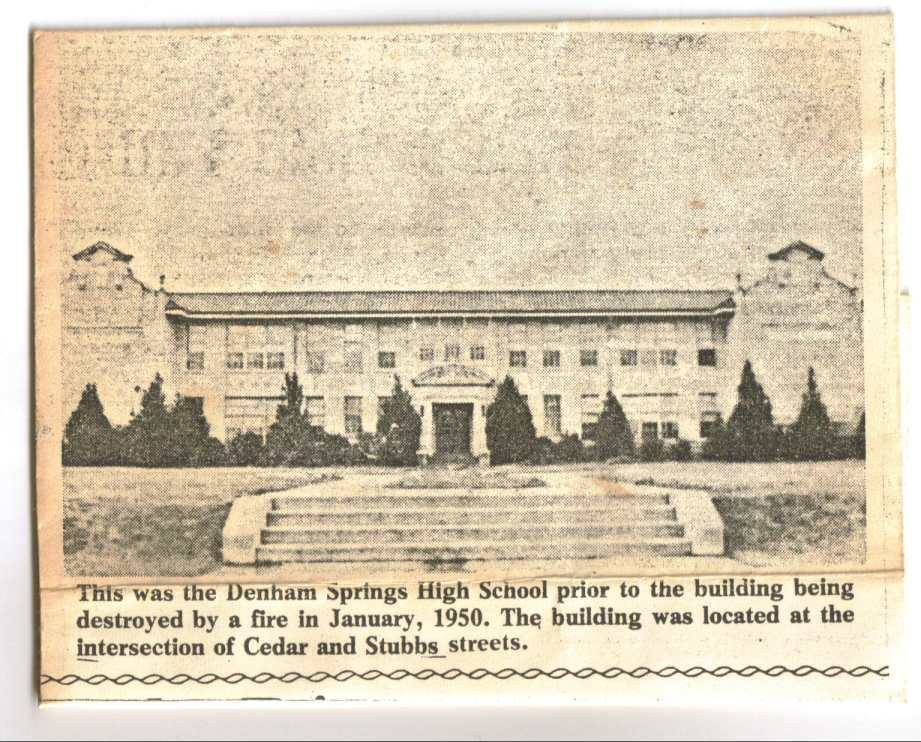 DS High school prior 1950