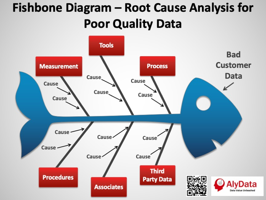 AlyData - Fishbone Diagram Data Quality