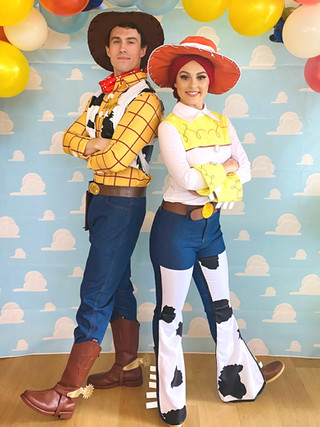 Toy Cowboy and Cowgirl