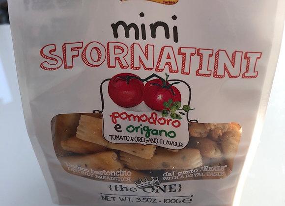 Mini sfornatini tomaat oregano 100 gr