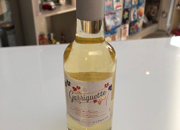 Witte wijn Garriguette 250 ml