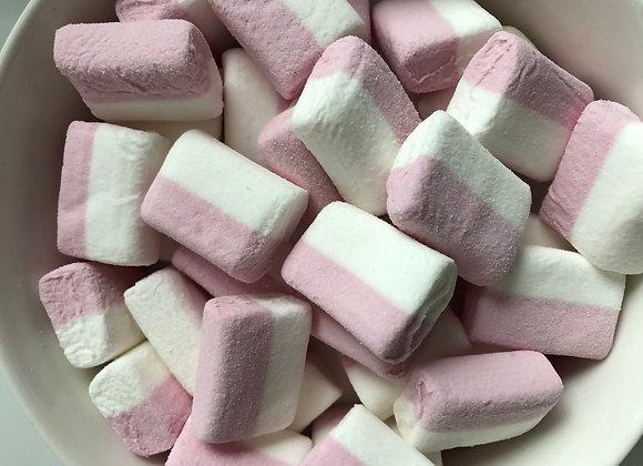 Spekken mini blok roos/wit (Haribo)