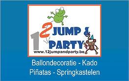 ballondecoratie, ballonkado, pinata's, springkastelen