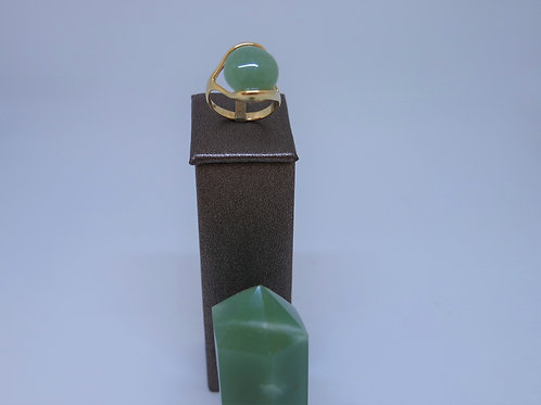 Anel - Quartzo Verde