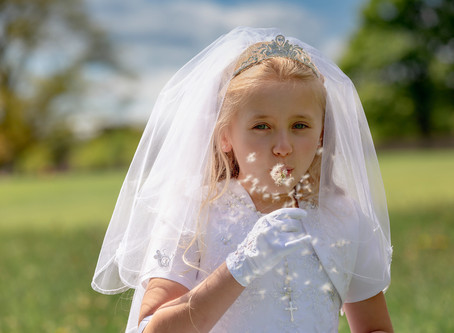 Enrika's First Holy Communion - Drogheda Co.Louth