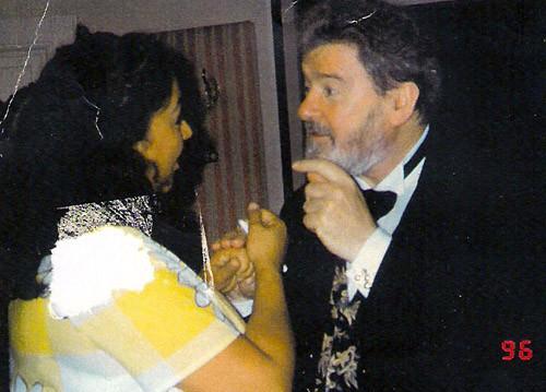 Sir James Galway after his concert at Musikverein