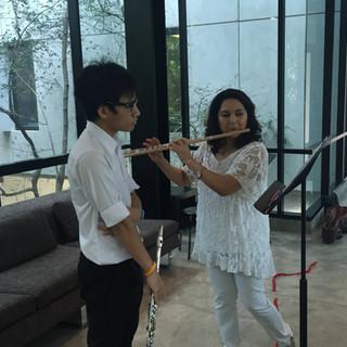 Flutemasterclass, Mahidol-University Thailand