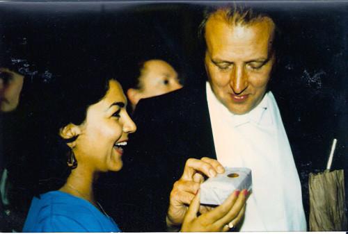50th birthday of William Bennett in London