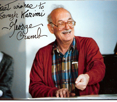 Best wishes for me by George Crumb