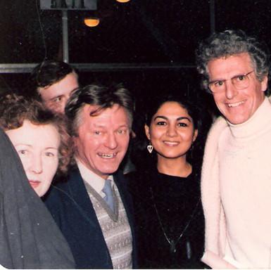 with Peter-Lukas Graf & Albert Cooper, 1980