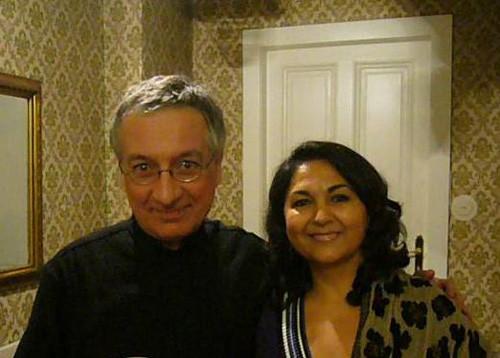 with Alvaro Pierrie
