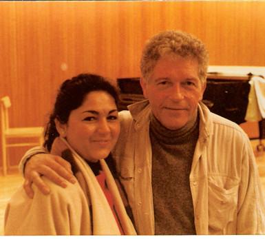 1988 with Aurèle Nicolet