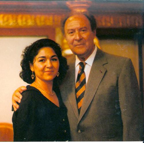 1982 in Musikverein Vienna with Jean-Pierre Rampal