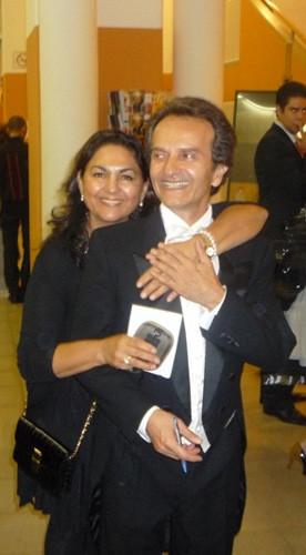 with Shardad Rohanie, Vienna Koncerthall