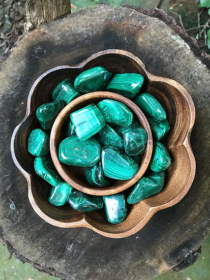 *MALACHITE (TUMBLED)