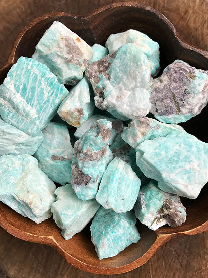 *AMAZONITE (ROUGH)