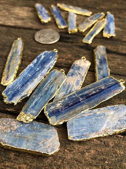 *BLUE KYANITE PENDANT