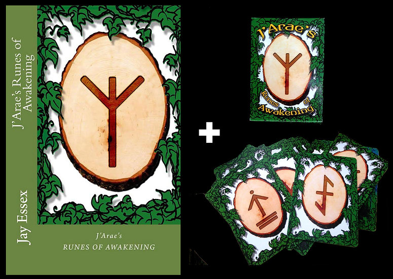 J'ARAE'S RUNES OF AWAKENING: DECK & BOOKLET