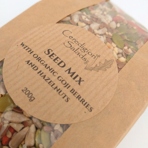 Seed Mix with Goji Berries and Hazelnuts