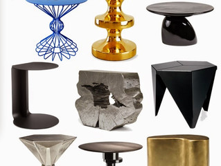 Side Tables Can Add a New Look to Your Living Room or Bedroom