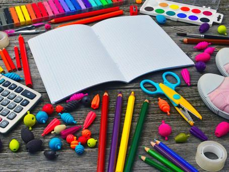 Listes de matériel et commandes pour l'année scolaire 2020-2021
