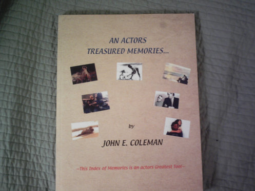 """An Actors Treasured Memories"""