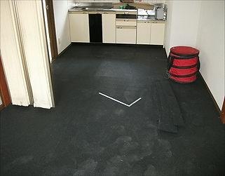リフォーム前の床