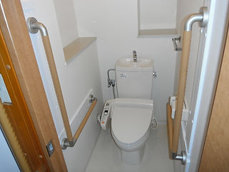 介護リフォーム後のトイレ