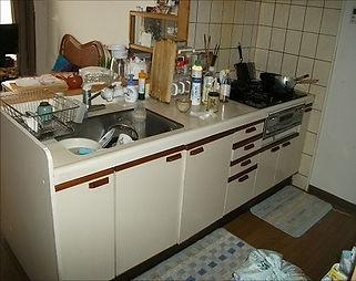 リフォーム前のキッチン