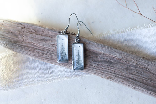 Upward Rising Earrings No. 3