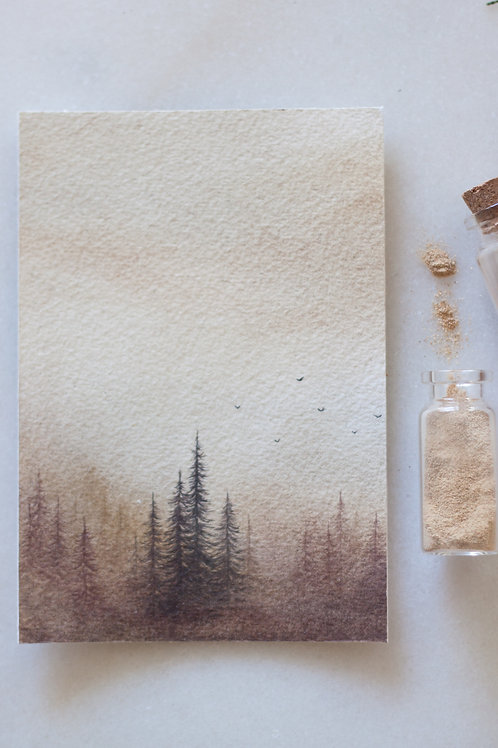 Ancestral Land, 4x6 inches