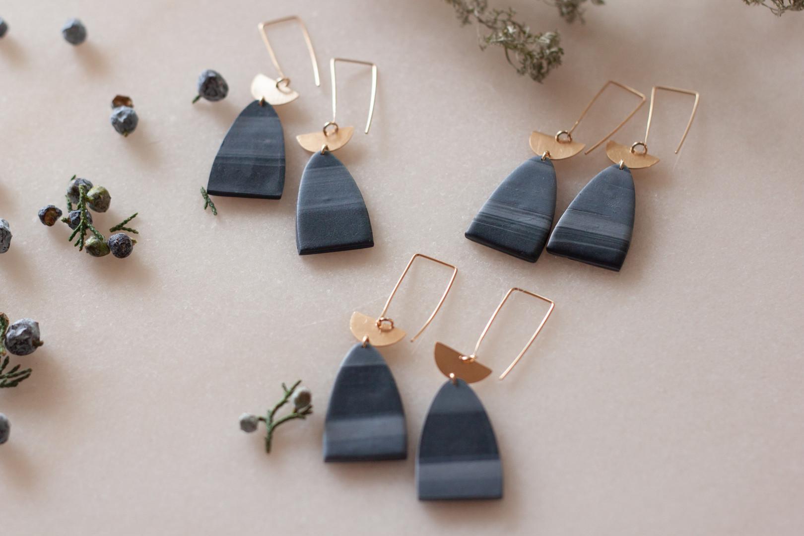One-of-a-kind earrings