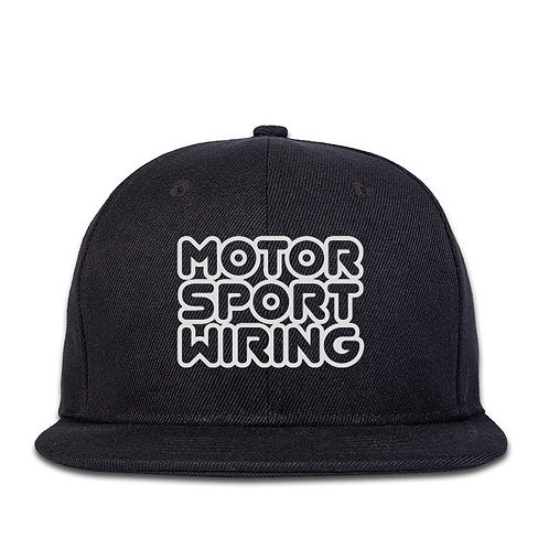 Motorsport Wiring Snap Back - Black