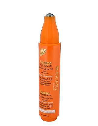 Stylo correcteur de taches d'huile d'argan et de carotte. 20 ML