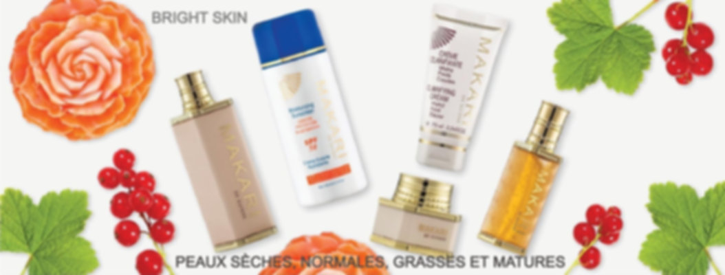 Gamme Makari de suisse Bright Skin anti-tache
