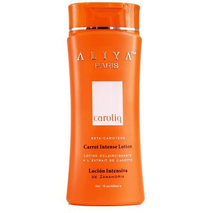 Lotion Unifiant, Clarifiant, Tonifiant intense à l'extrait de carotte. 468 ml